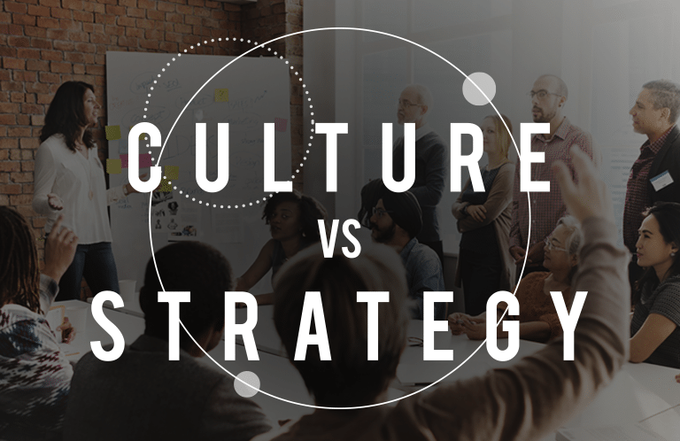 culture vs strategy image