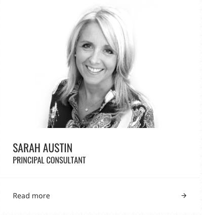 Sarah Austin - Principal Consultant - Change Specialist